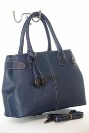 Дамска чанта в син цвят 9154153