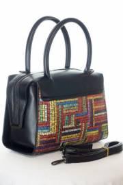 Дамска многоцветна чанта 9154156