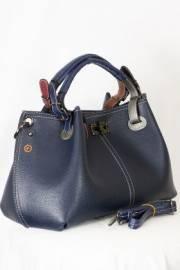 Дамска чанта в тъмно син цвят 9154169