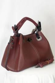 Дамска чанта в бордо 9154170