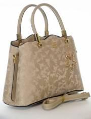 Дамска чанта в бежово 9154175