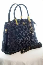 Дамска чанта в тъмно син цвят 9154177