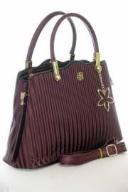 Дамска чанта в бордо 9154180