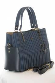 Дамска чанта в тъмно син цвят 9154183