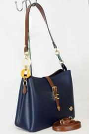 Дамска чанта в тъмно син цвят 9154212