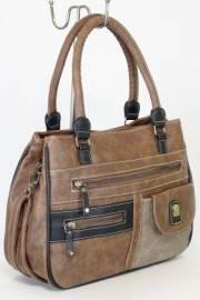 Дамска чанта в кафяво 9154223