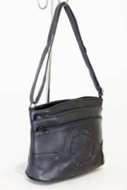 Дамска чанта в тъмно син цвят 9154232