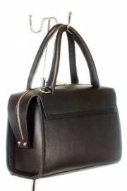 Дамска чанта от естествена кожа в черно 9154238