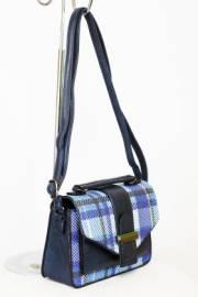 Дамска чанта в черно и синъо 9154248